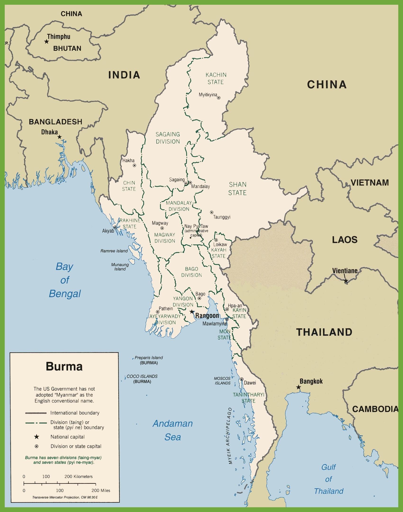 Myanmar political map - Burma political map (South-Eastern ... on bermuda map, senegal map, libya map, eritrea map, usa map, china map, north sea map, kenya map, croatia map, india map, ghana map, ethiopia map, madagascar map, armenia map, rwanda map, algeria map, papua new guinea map, sudan map, andaman islands map, cameroon map, burundi map, niger map, angola map, mongolia map, zimbabwe map, japan map, uganda map, germany map, morocco map, myanmar map, iran map, iceland map, pakistan map, mozambique map, southeast asia map, lesotho map, tunisia map, central asia map, cape of good hope map,