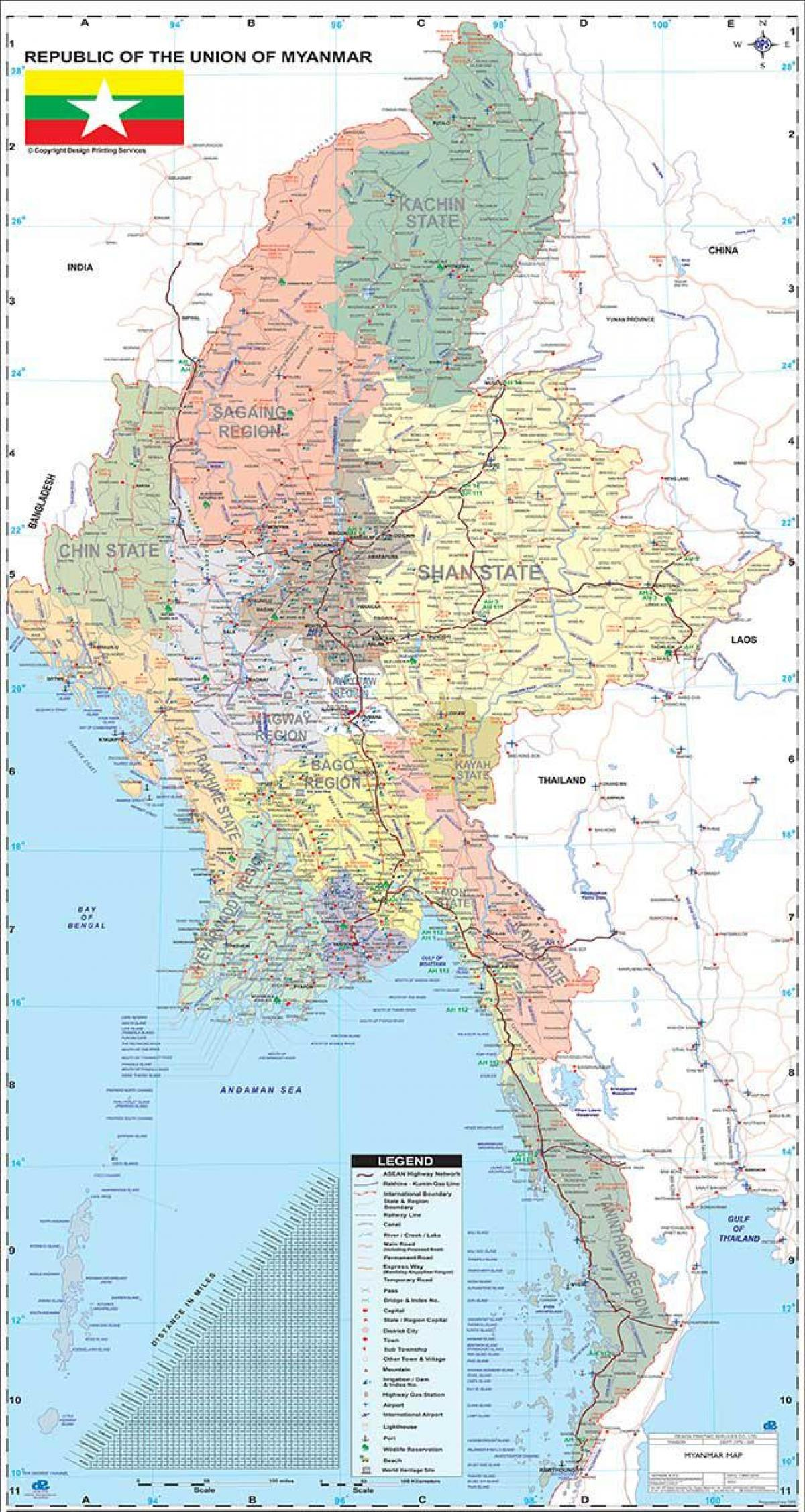 Myanmar map apk