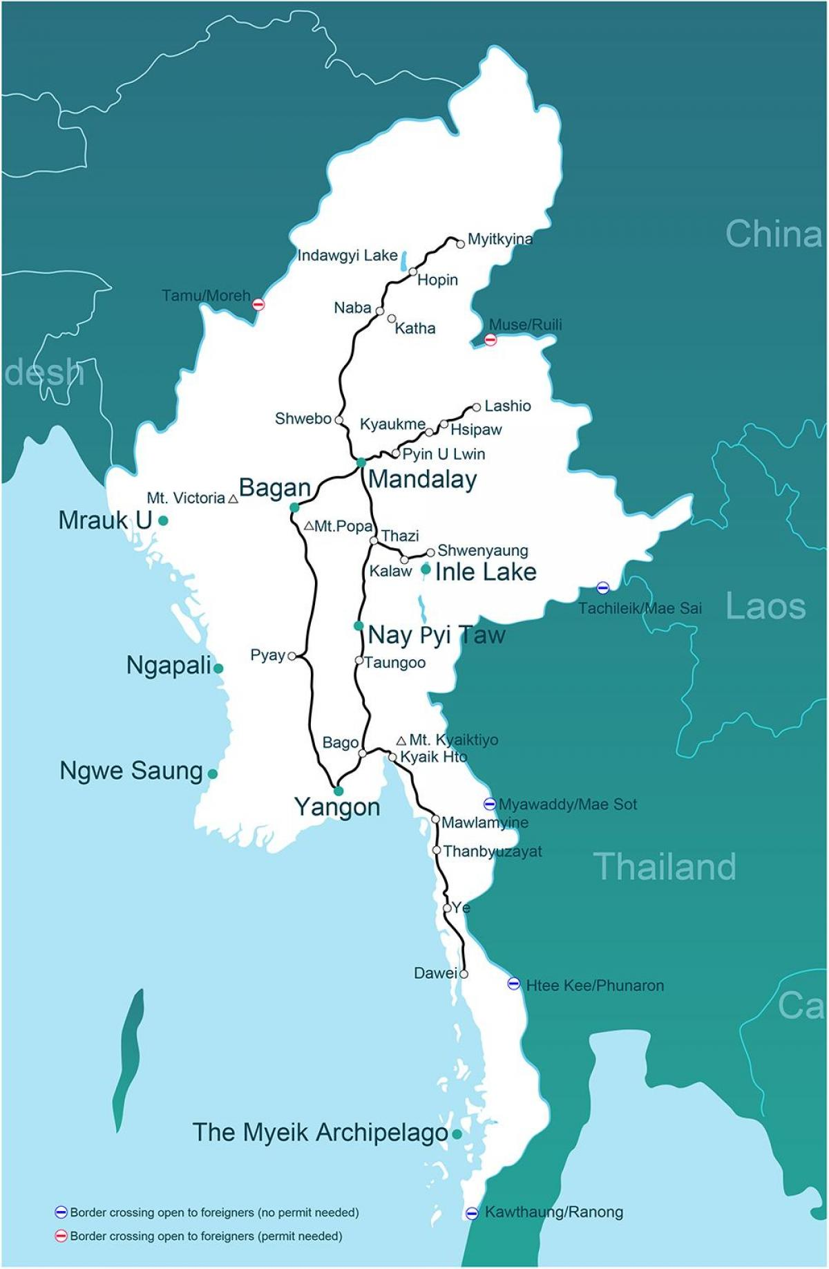 one map Myanmar
